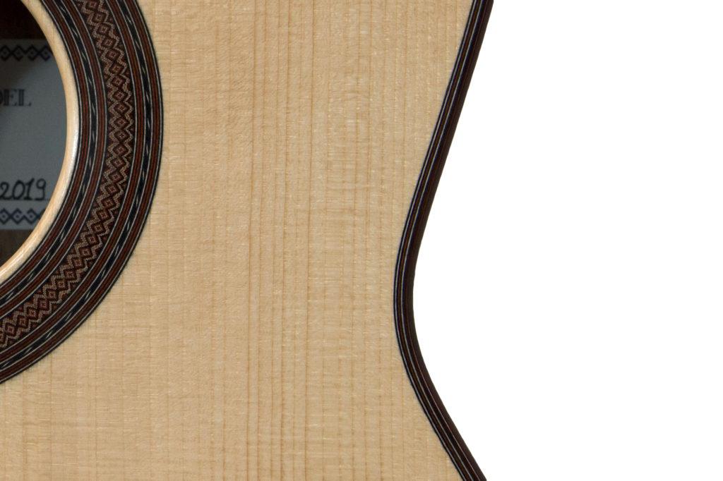guitares pradel lyon epicea noyer guitare filets