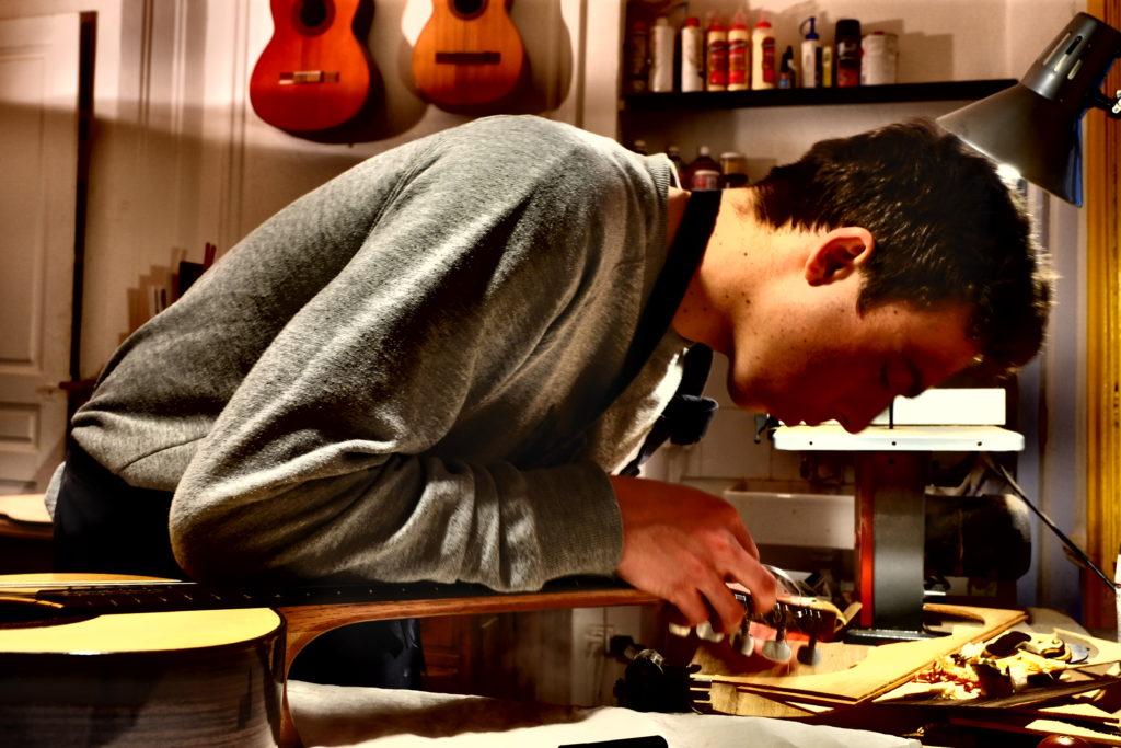 Guitares Pradel règlages