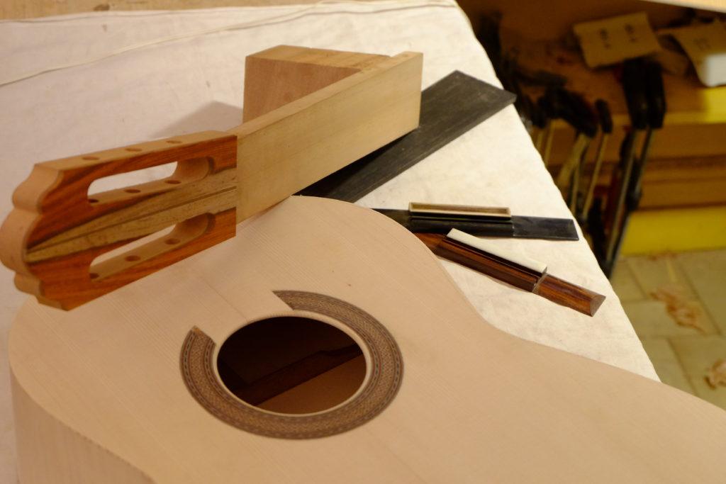 Guitares Pradel erable