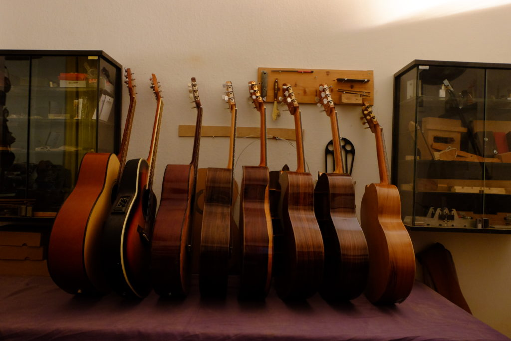 Guitares Pradel stock