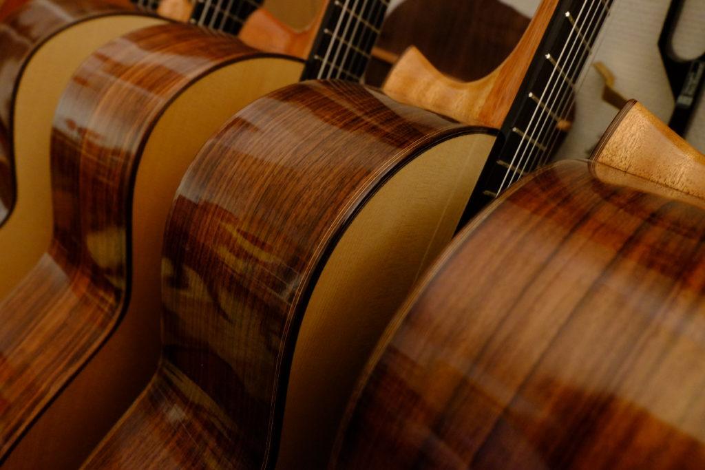 Guitares Pradel details