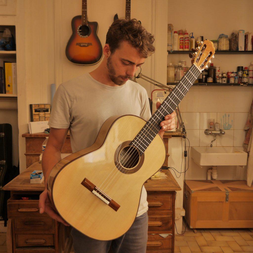 Guitares Pradel luthier