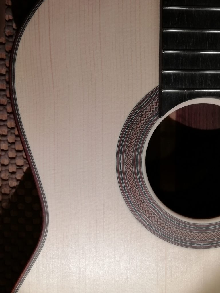 Guitares Pradel lutherie detail