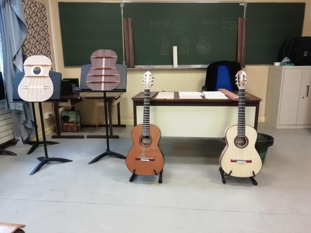 Guitares Pradel conservatoire de lyon