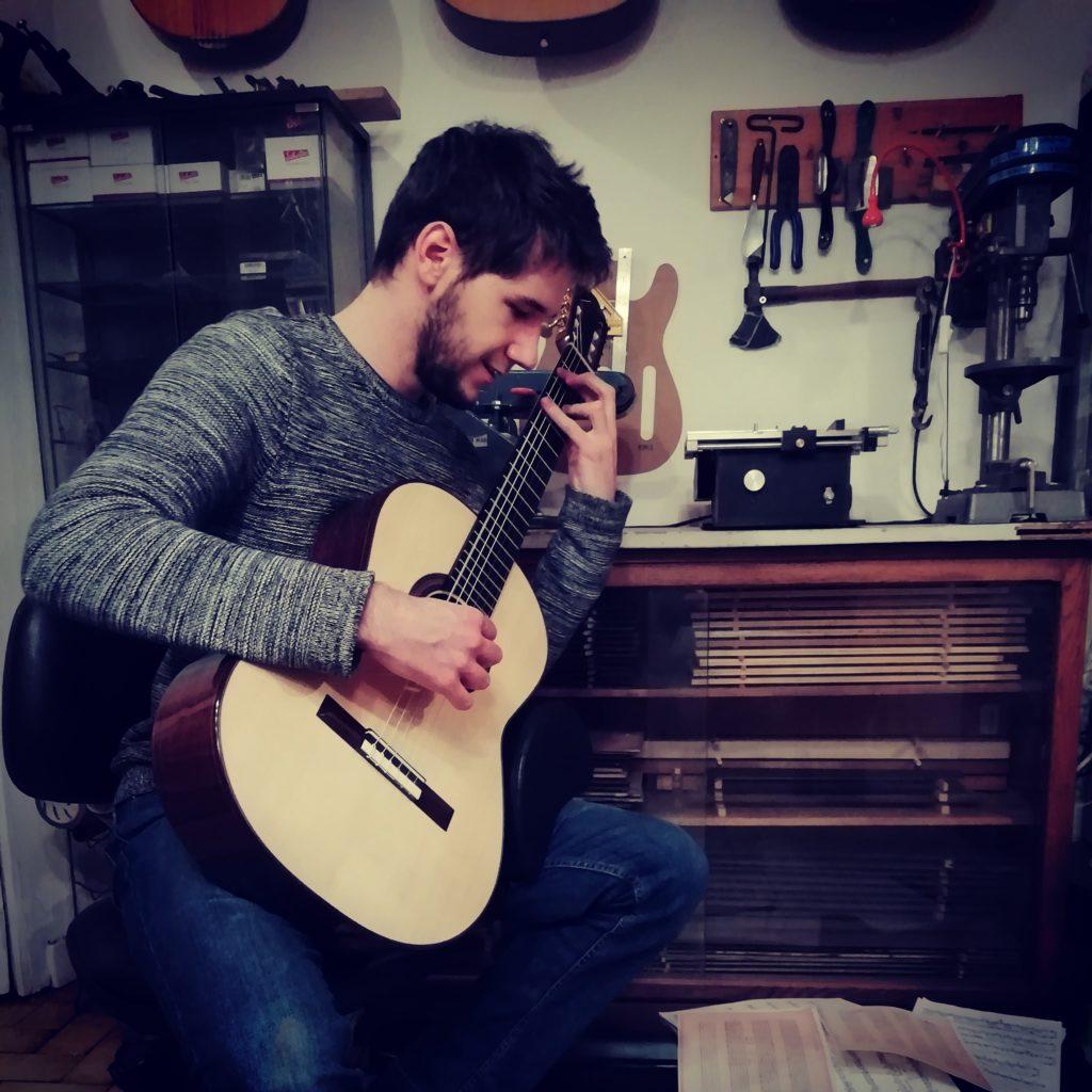 Guitares Pradel essai guitare