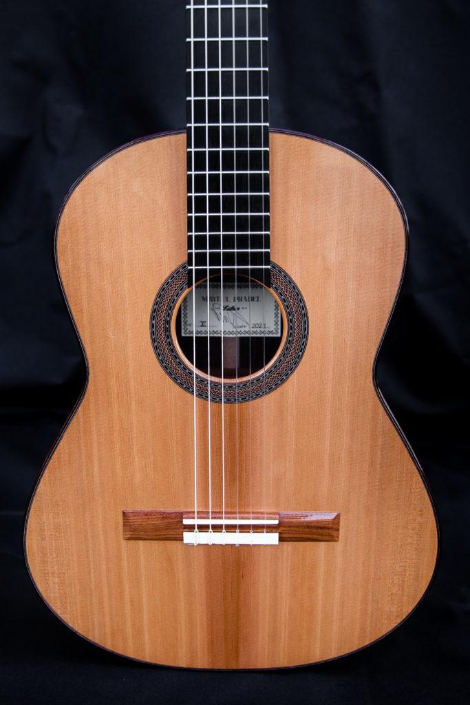Guitares Pradel XI table dh'armonie