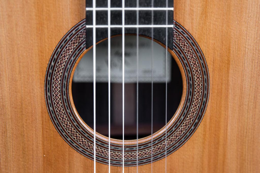 Guitares pradel X rosace